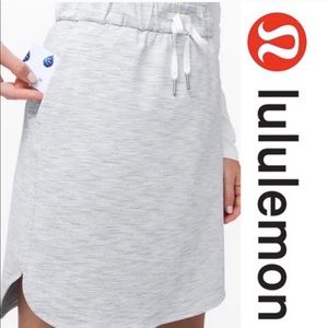 New Lululemon on the fly adjustable waist skirt.